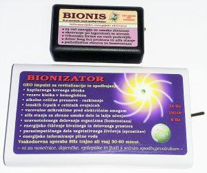 Bionis in Bionizator oddajata geo impulze, ki krepijo kostno maso proti osteoporozi