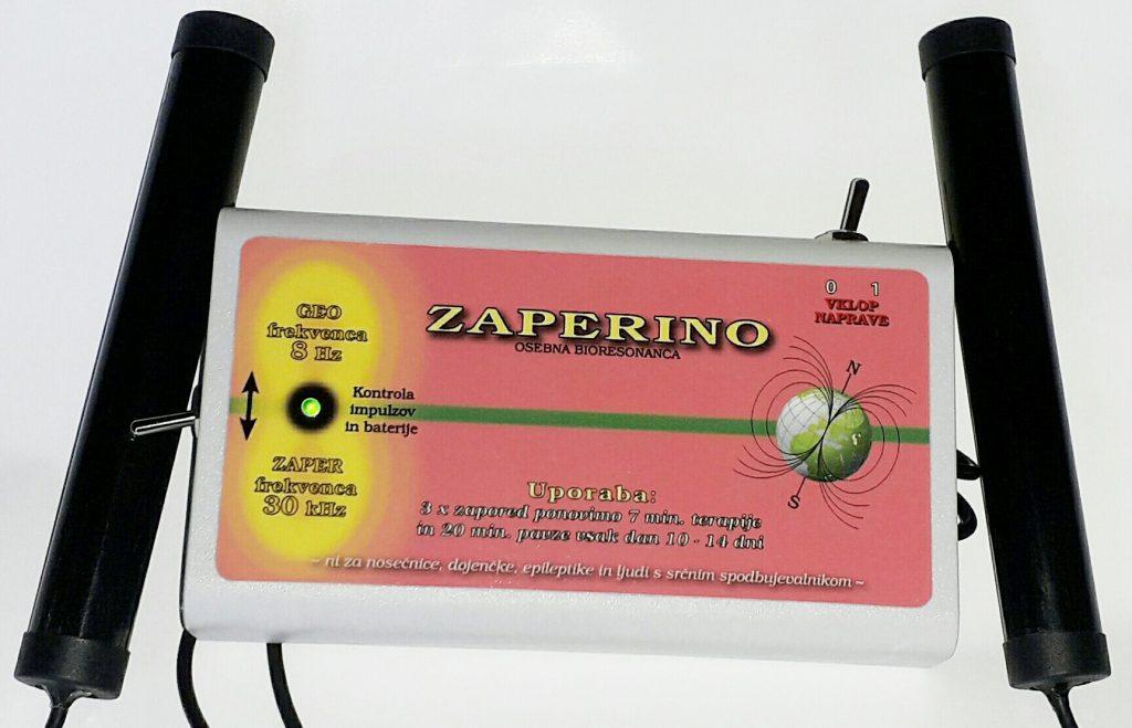 Akupresurne točke v dlaneh stimulita Zaper Zaperino terapija z zaper impulzi