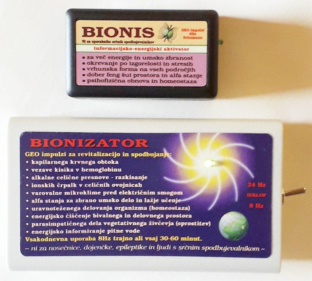 Zaper Zaperino, Bionis in Bionizator v Medika Maribor