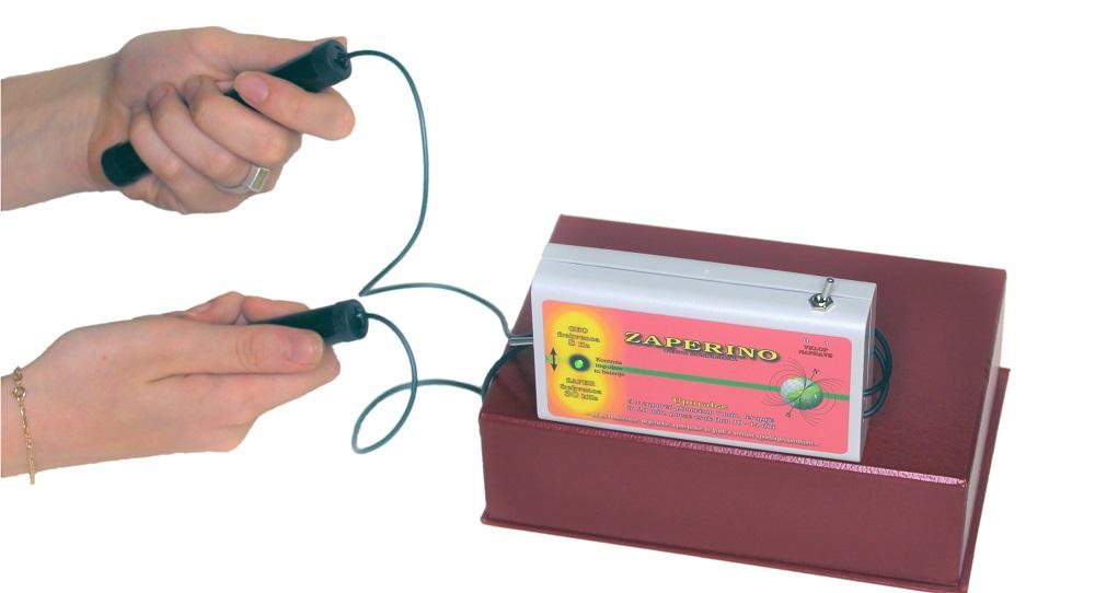 Zaper Zaperino unici parazite pri elektricnem sevanju - Detektos