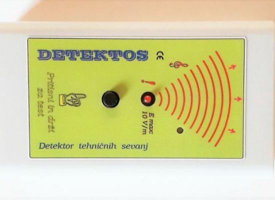 Detektos za meritve elektricnega sevanja