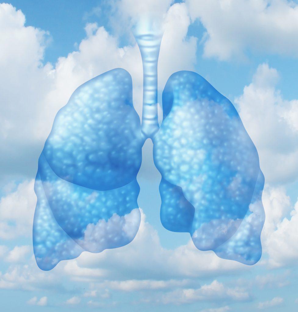 v zdravih pljucih je vibracija za vec kisika