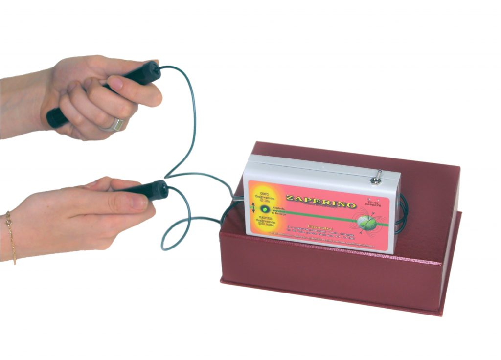 Zaper Zaperino frekvenčna terapija za uničevanje parazitov original po dr. Clark