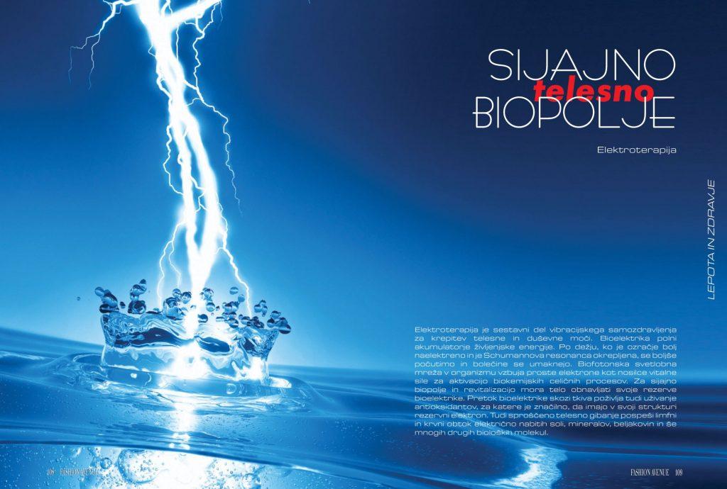 Sijajno telesno biopolje - elektroterapija
