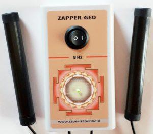 Gutation in Zapper Geo uničuje viruse, bakterije, parazite
