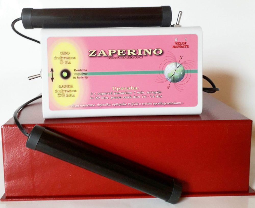 Za železo, kisik in krvni hemoglobin Zapper Zaper Zaperino terapija in Schumannovi geo impulzi Bionis