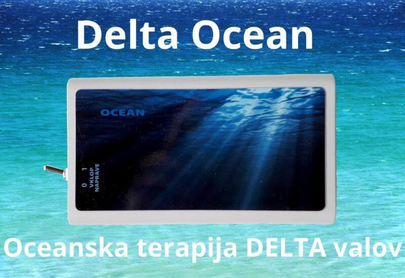 Delta Ocean - Oceanska terapija Tesla-Zaper-Geo ALKIVITA Vibracijsko samozdravljenje