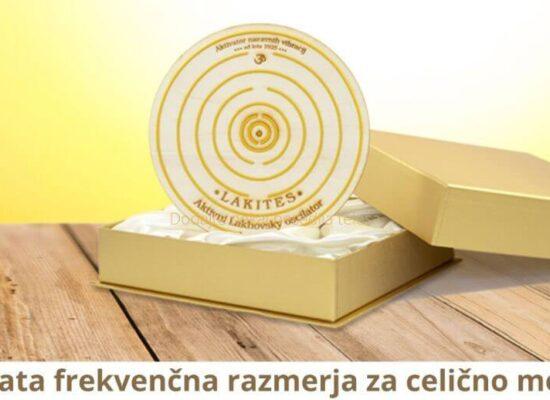Večvalovna terapija dr. Lakhovsky - LAKITES - Zlata frekvenčna razmerja za celično moč ALKIVITA