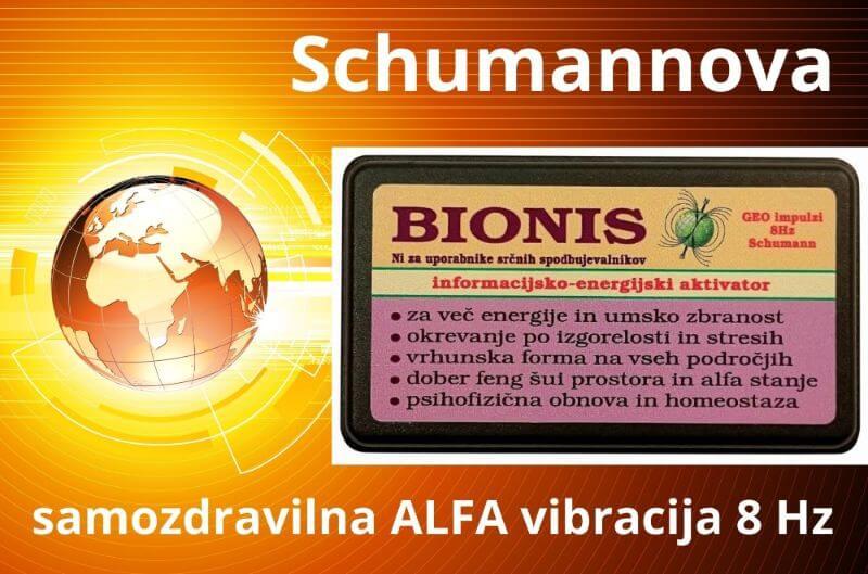 Geo impulzi 8Hz Schumannova samozdravilna ALFA vibracija ALKIVITA Tesla-Zaper-Geo